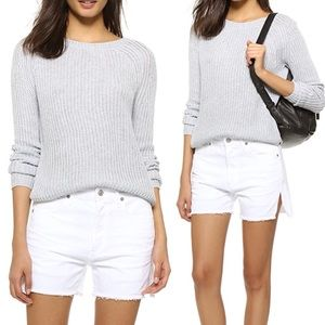 Rails Willow loose knit white sweater